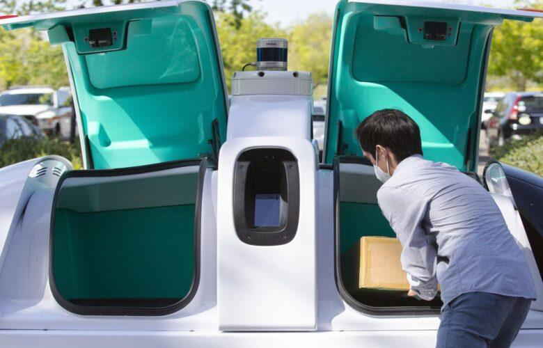 Nuro's self-driving robot